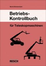 Betriebs-Kontrollbuch Teleskopmaschinen