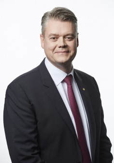 Mats Rahmström, CEO and President of Atlas Copco AB