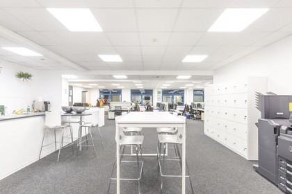 Deutsche Lichtmiete Schnellecke Großraumbüro