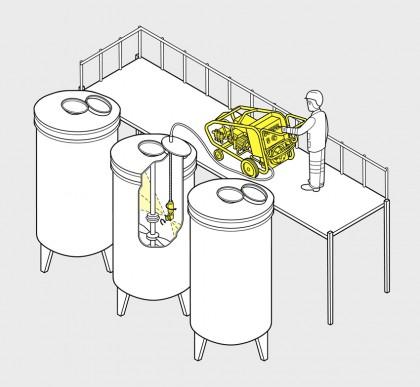 innenreinigung tank