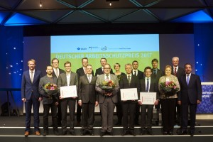 Die Preistraeger des Deutschen Arbeittschutzpreises 2017