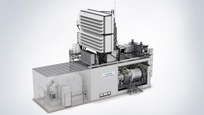 Gasturbine Siemens